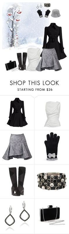 """""""Time to Build a Snowman!"""" by smith-1979 ❤ liked on Polyvore featuring Vivienne Westwood, Frye, HEET, DB Designs and Barbour"""