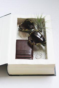 DIY Secret Book Box - CLADCLOTH