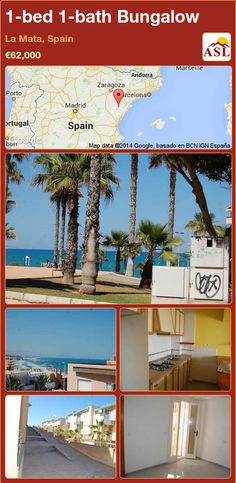 Bungalow for Sale in La Mata, Spain with 1 bedroom, 1 bathroom - A Spanish Life Bungalows For Sale, Lounge, Spanish, Bath, Bedroom, Life, Apartments, Dorm Rooms, Bedroom Apartment