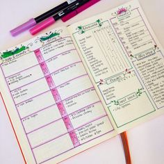 40 Weekly Spread Ideas for your Bullet Journal