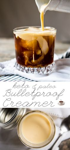 Homemade Paleo & Keto Bulletproof Coffee Creamer | Easy and Healthy!