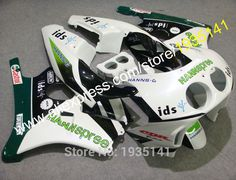 Hot Sales,For Honda CBR250R 1990-1994 MC22 CBR250 RR 90 91 92 93 94 Hannspree Aftermarket Motorcycle Fairing (Injection molding) #Affiliate