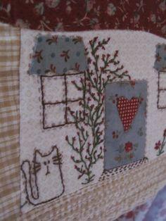 patchwork, quilting, labores, costura