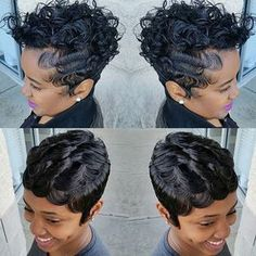 578 Best Finger Wave Burgundy Images Down Hairstyles Wave