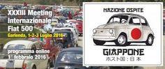 Il Giappone sarà ospite d'onore al prossimo Meeting Internazionale di Garlenda. Oltre 1000 auto presenti!
