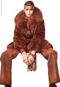 Calvin Klein, Ensemble, in Vogue, 1972