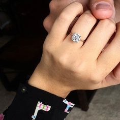 PERFECTION. Absolutely Perfect! ~ Engagement Ring Inspiration | POPSUGAR Love & Sex