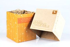 Natural Packaging for Tea - Riska Tiofani