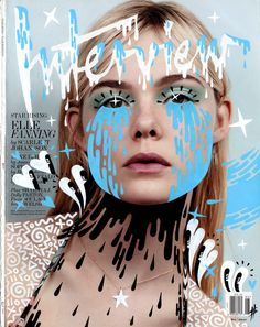 Pastiche - This work imitates the filters you can use on snapchat on a design for a magazine cover.