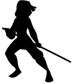 mulan silhouette warrior - Google Search