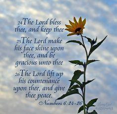 Numbers 6:24-26 KJV
