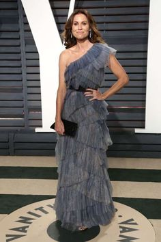 Minnie Driver attends Vanity Fair's Oscar Party at the Wallis Annenberg Center for the Performing Arts in Beverly Hills on Feb. 26, 2017.