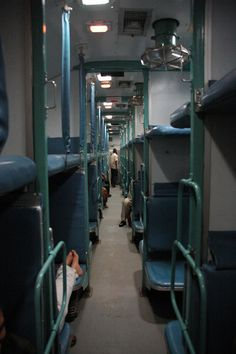 DEL Indian Railways Air-conditioned 3-tier (AC3) coach on overnight train 2381 POORVA EXPRESS from Varanasi or Benares to Delhi