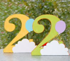 Items similar to The Vintage Balloon Collection - Custom Tabletop Decorations from Mary Had a Little Party on Etsy Baby Birthday, First Birthday Parties, First Birthdays, Birthday Ideas, Balloon Birthday Themes, Disney Movie Up, A Little Party, All Themes, Custom Banners