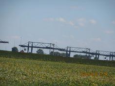 CSX container cranes in North Baltimore