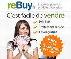 reBuy propose un service d'achat de mobiles et de tablettes, associé à une boutique de revente de ces même produits vérifiés et reconditionnés.