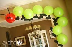 "Adorable ""Hungry Caterpillar"" party!"