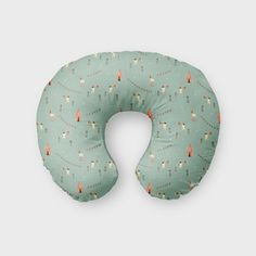 Nursing Pillow Cover Circus. Nursing Pillow Cover. by SuiteBaby