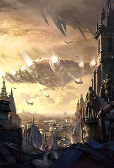 Gorgeous artwork by Raphael Lacoste.