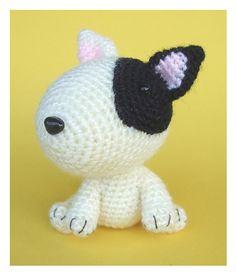 Fox Terrier Amigurumi Patron : Amigurumi Bull Terrier - FREE Crochet Pattern / Tutorial ...