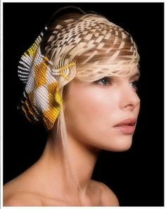 Amazing Beaded Hair Jewelry Inspirations and Tutorial - The Beading Gem's Journal