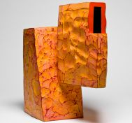 Ken Price. Acrylic on Fired Clay
