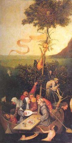 The Ship of Fools - Hieronymus Bosch