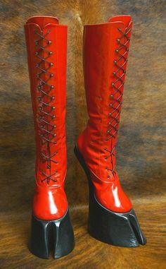 SUCCUBUS  Hoof boots by HORSEKING on Etsy