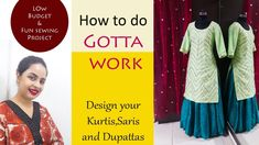 How to do Gotta work Indian Designer Outfits, Designer Dresses, Neckline Designs, Fun Projects, Diy Fashion, Kurti, Budgeting, Sewing, Camera Phone