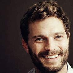 Jamie Dornan. That smile is the best smile I have seen. Could look at it all day. #JamieDornan
