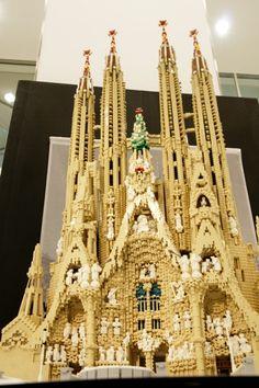 Oh, man, I love this!  Sagrada Familia!
