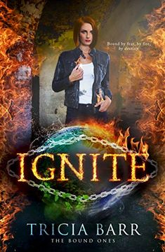 Ignite, by Tricia Barr; cover design by Okay Creations / Sarah Hansen