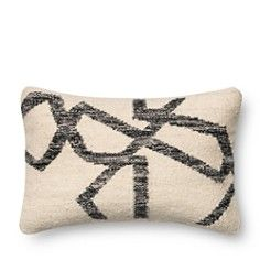 """Loloi Jagged Lines Decorative Pillow, 13"""" x 21"""""""