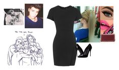 """""""Happy Birthday, Zayn. I love and miss u!!!"""" by courtney-paige-mcintosh ❤ liked on Polyvore featuring beauty, Fiebiger, Topshop, Dolce&Gabbana and Valentino"""