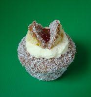 Lamington Cupcakes Australia Day