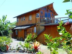 ~ Aloha and welcome to the Balinese Style BEACH HOUSE on the North Shore of Oahu ~ Offering a detached Studio 1 Bed / 1 Bath with Kitchenette & Dining Patio -- 20 feet from Main House, steps to the most beautiful beach and lagoons ! SEPARATE ENTRANCE This Suite includes a new bedroom and private bath, kitchenette has basic ammenities such as Fridge (full size), microwave, toaster over, blender, dishes + cutlery, etc.. This amazing home faces the most beautiful beach on Oahu, and has been…