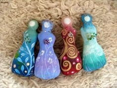 A spirit doll can be an amulet or a talisman. Protection or to attract positive energy. Making your own spirit dolls are so much fun and wildly creative!  Magical, sweet, intuitive and inspiring.