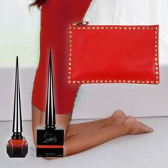 WIN a #Valentino bag, @JewelToned Major Mini, #Louboutin polish and more from @wantable! #redhot #CYOS