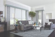 Before you spend a fortune on new furniture and decorations, Budget Blinds has put together several simple design ideas that will make your outdoor space a relaxing retreat. Decor, Formal Living Rooms, Window Styles, Diy Interior, Living Room Windows, Valances For Living Room, Lamps Living Room, Modern Window Treatments, Designer Window Treatments