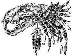 Animal Skull by Rene Campbell