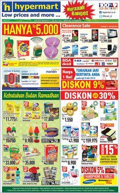 Hypermart: Promo Koran Weekday Periode 7 - 10 Juli 2014 (Manado) @hicard_id