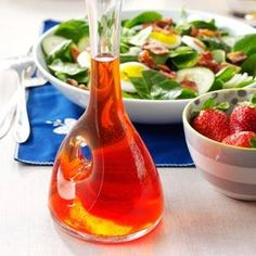 19 Recipes for Homemade Salad Dressing                     -                                                   Homemade salad dressings are the perfect finishing touch for your greens. Find recipes for vinaigrette salad dressings, strawberry salad dressing, blue cheese salad dressing and more.