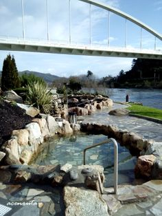 Termas Publicas De Outariz. Hot springs in ourense Spain