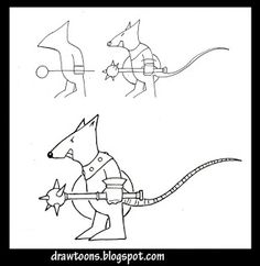 skaven clanrats coloring pages | How to draw dragons step 3 | DRACS | Pinterest | Dragon ...