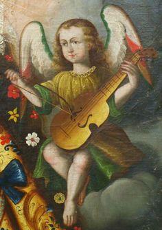 Altar, Religious Paintings, Sculpture, Cherub, Art Music, Black Art, Les Oeuvres, Catholic, Musicals
