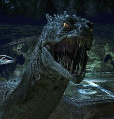 The basilisk from Harry Potter and the chamber of secrets.