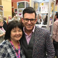 Finally caught up with #DavidTutera at Creativation 2017 ( @AFCI_Global ) trade show in Phoenix AZ. Worked on his Celebrate Card Making  System with @coredinations for two years. Thanks, Core and David <3