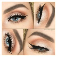 21 Best Ideas of Makeup for Blue Eyes ❤ liked on Polyvore featuring beauty products, makeup and eye makeup
