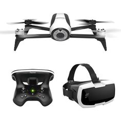Parrot Bebop 2 #quadcopter Drone with Skycontroller 2 & Cockpit FPV Glasses, 14 MP lens with Full HD Video and Return to Home. £ 589.00