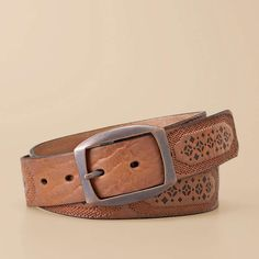 FOSSIL® Clothing Belts:Women Signature Embroidery Belt BT3959